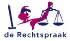 Logo van De Rechtspraak